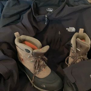 North Face 2-4-1 Combo: Bionic Jacket & WP Boots